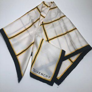 Givenchy Japan 100% Silk Scarf Square